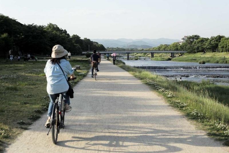 Cycle up the Kamo River, Kyoto's lifeblood