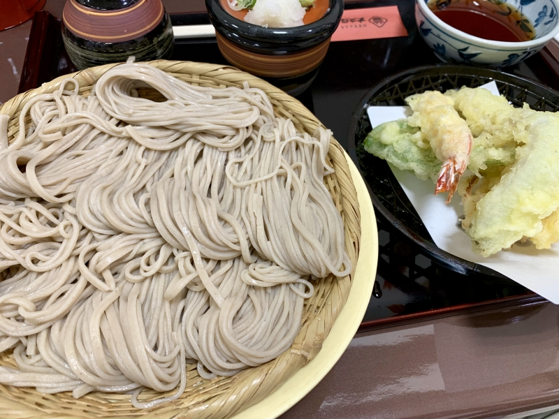 Soba Noodle for lunch.