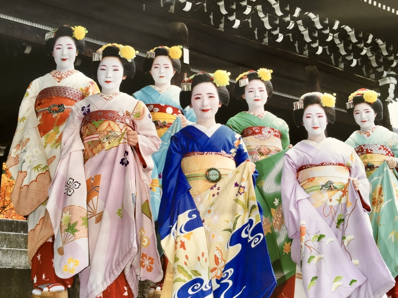 Geisha in Gion-district.