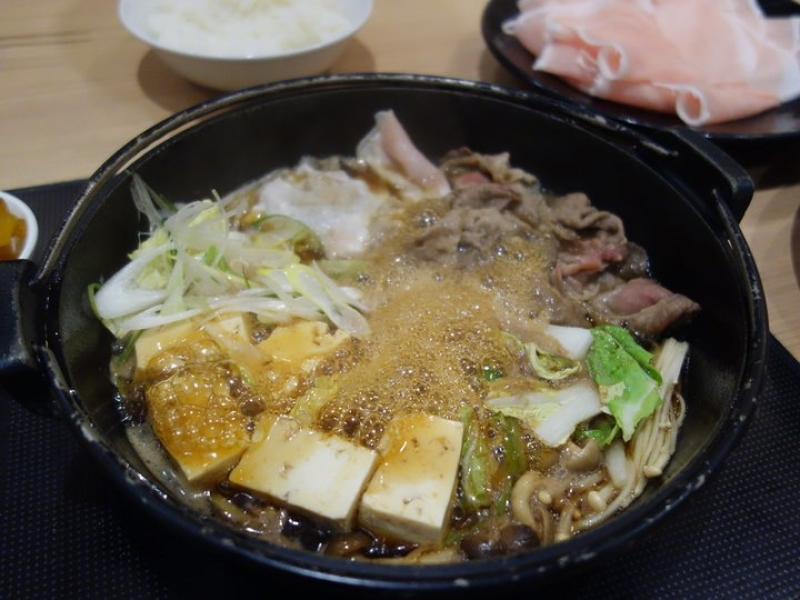 Sukiyaki or Shyabu Shyabu beef restaurant