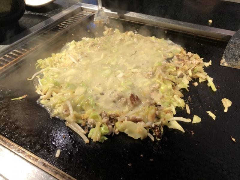 Monjya (Tokyo style pancake)