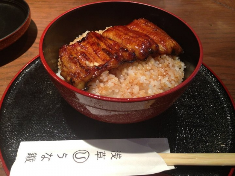 Popular Unagi (smoked Eeel)restaurant