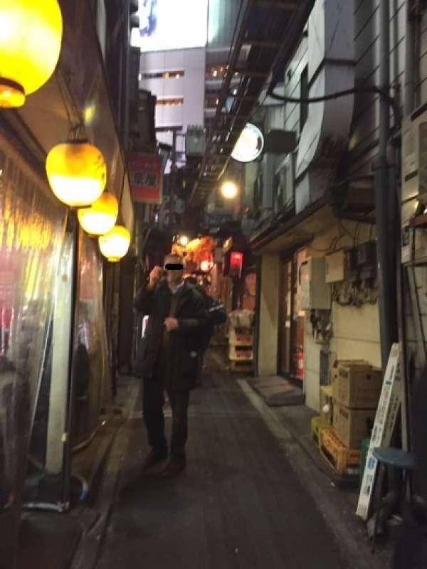 Shinjuku Omoide Yokocho street, post war restaurants in barracks.