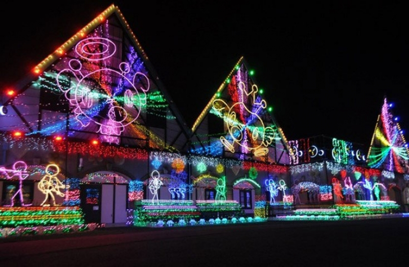 Outlet shopping & Illumination Private tour with Driver