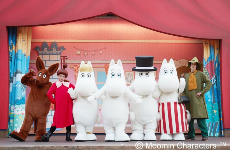 Kawagoe & Moomin Valley Park Group Tour (Semi Private) with Driver