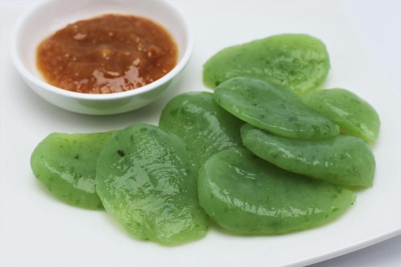 Taste various cooked Konnyaku food