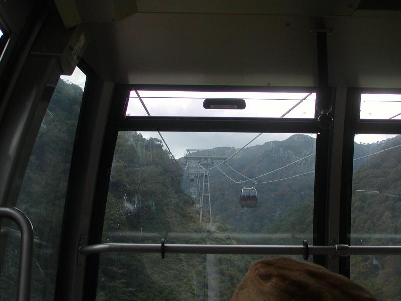 Tanigawadake rope-way