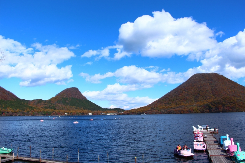 Hot spring, Lake view & Konnyaku park Group Tour (Semi Private) with Driver