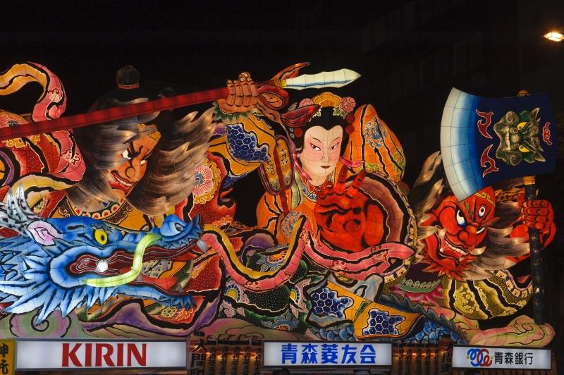 Nepputa Festival-the biggest festival in Japan