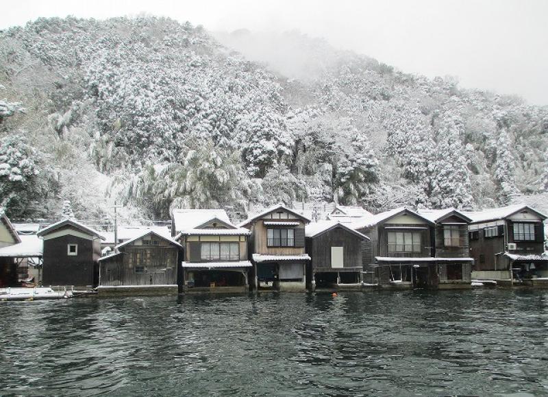 Ine no Funaya in Winter