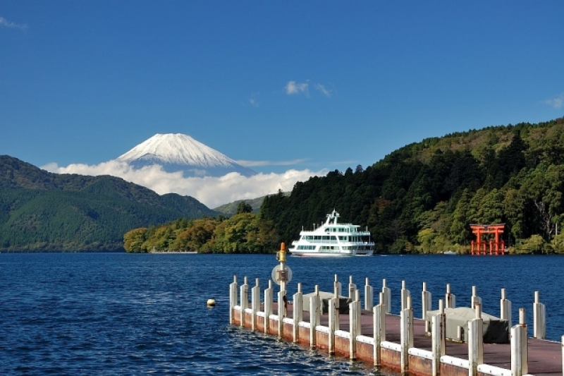 Mt.Fuji & Hakone Group Tour (Semi Private) with Driver