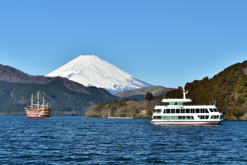Mt.Fuji & Lake Ashi