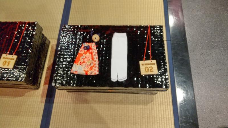 Traditional costume box.