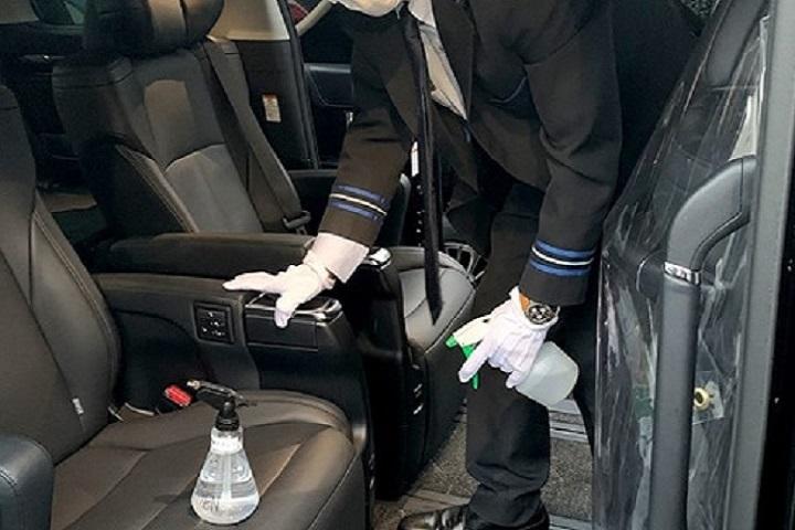 Vehicles regularly sanitized