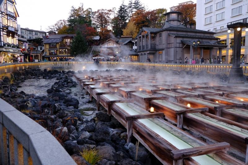 Yubatake at Kusatsu Onsen (Hot Spring)