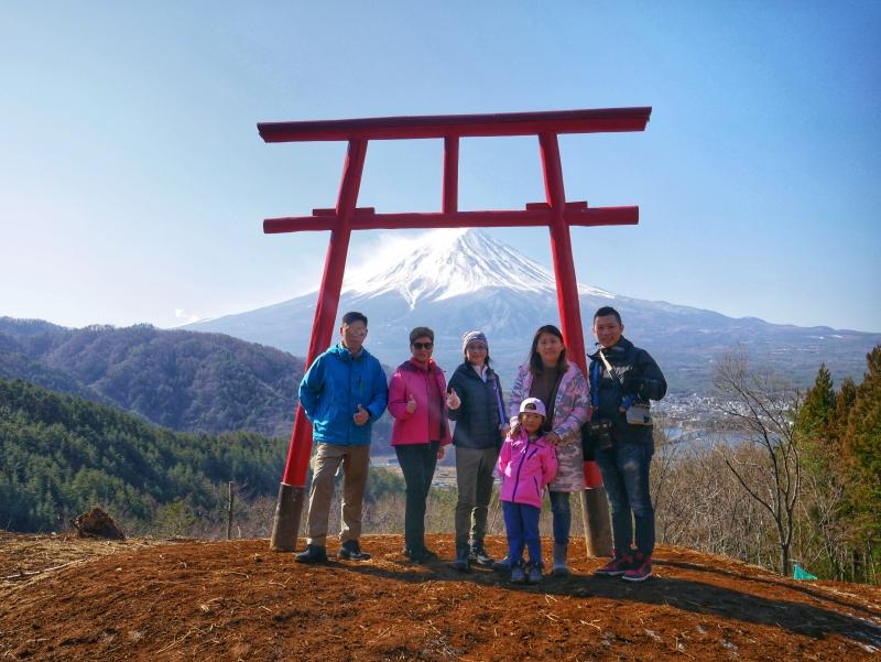 富士山鳥居