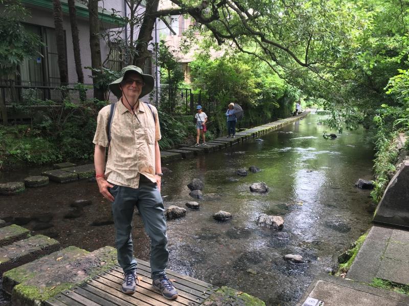 A guest at Genbei River