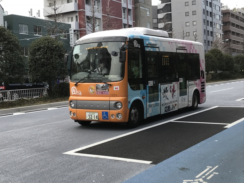 Bunkyo City Community Bus: B-guru