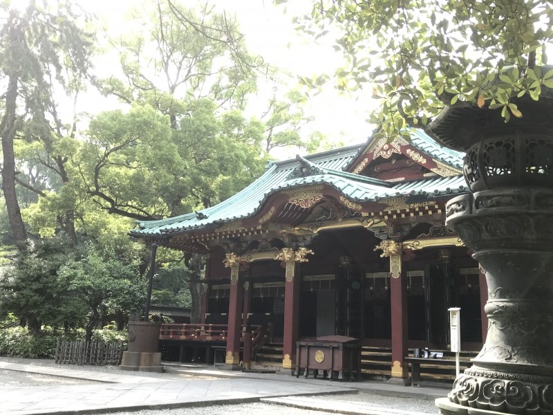 Nezu Jinja Shrine in early summer