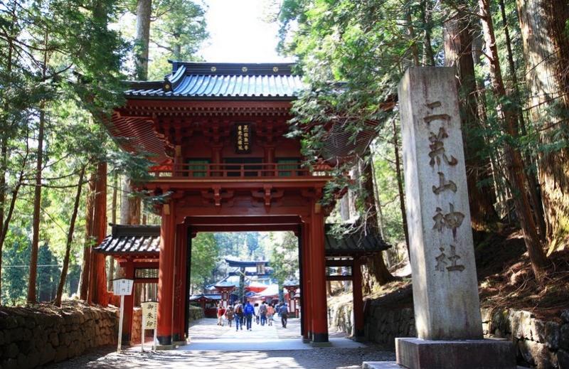Futarasan Shrine : The shrine was originally founded by a Buddhist monk in the eighth century.