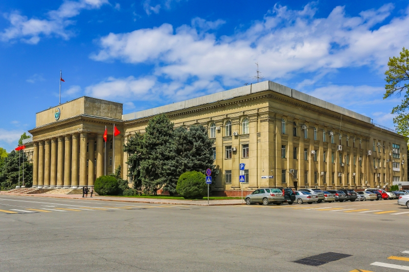Bishkek Walking Tour- City Center, Osh Market, and More