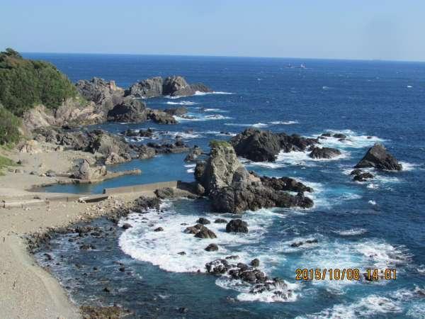 Seaside area of Kushimoto Marine Park