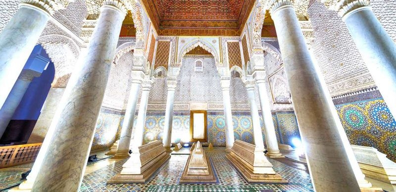 Saadian Tombs 16th century