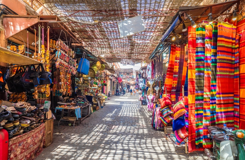 Souks in the medina(old town)