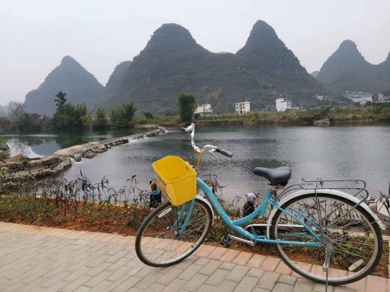 Guilin:Full-day Countryside Cycling Tour