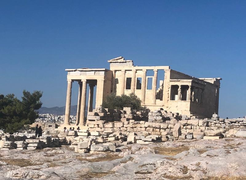 Erechteion temple at the Acropolis