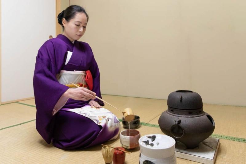 Online Traditional Japanese Tea Ceremony