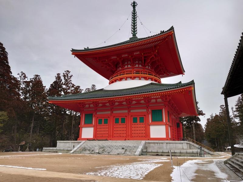 Konpon Daito pagoda in Danjo Garan Complex