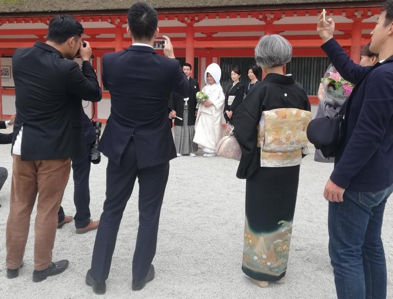 Wedding in Shimogamo