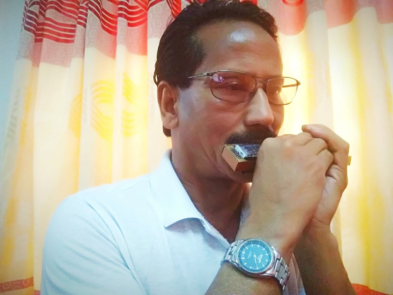 Live Eastern Music Party with Anil-Harmonica Performance