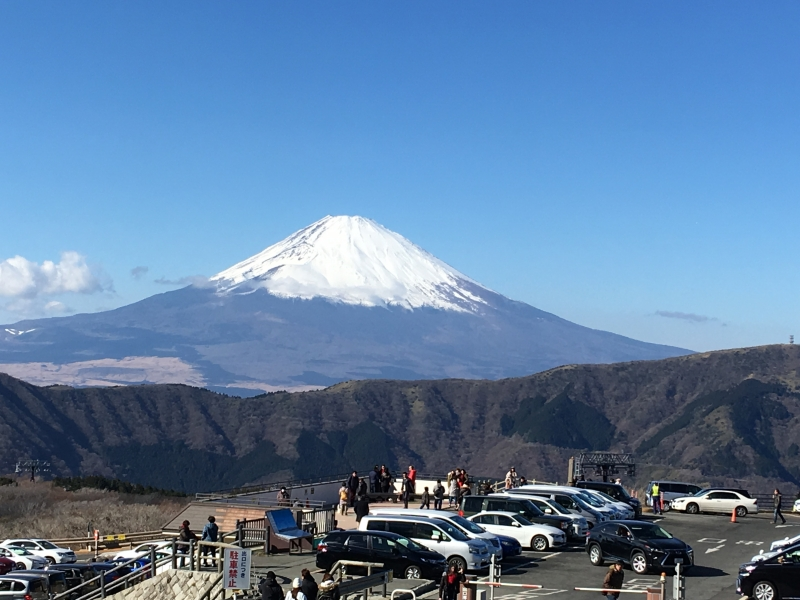 Mt. Fuji from Owakudani