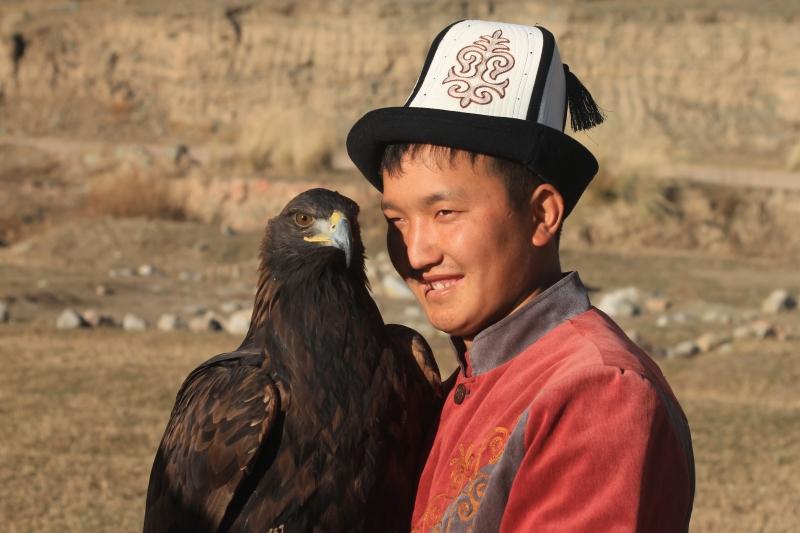 Eagle Man Nursultan