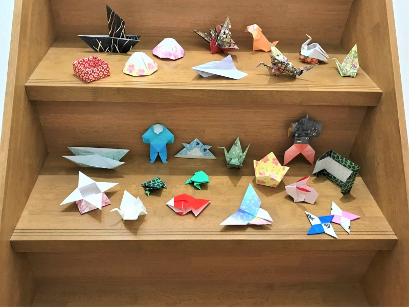 Various Origami works.