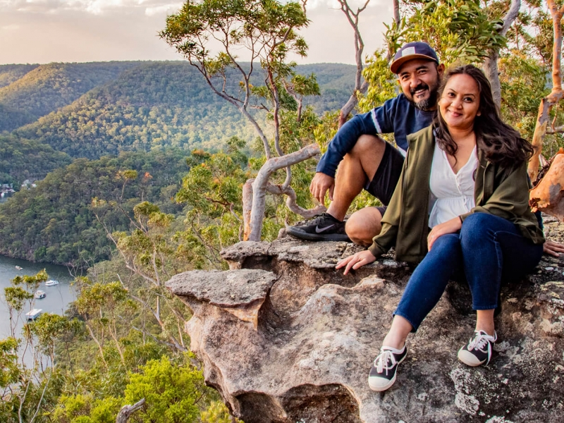 Majestic valley views and a short hike through Australian wilderness