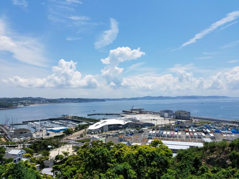 Enoshima Yacht Harbor, the sailing venue of 2020 Tokyo Olympics