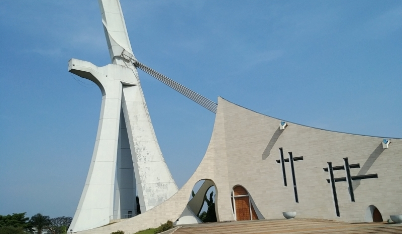 St Pauls Cathedral in Abidjan