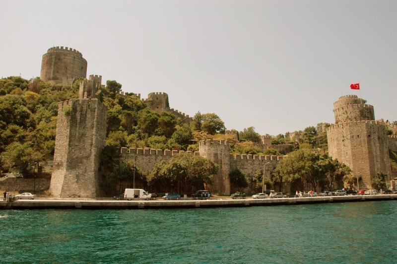 Rumeli Fortress on Bosphorus