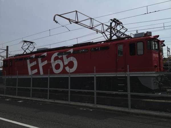 A freight train in Tabata train base
