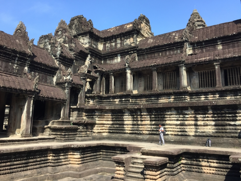 Structure and foundation of Angkor Wat