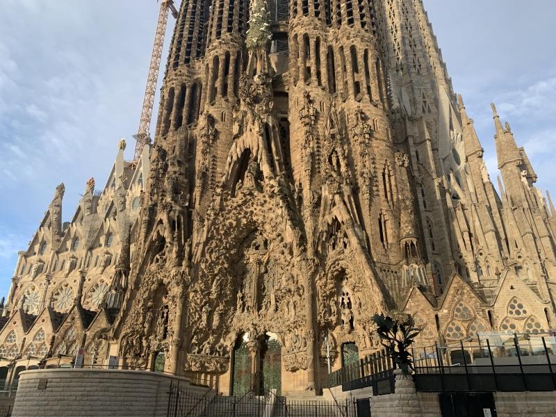 Sagrada Familia, nativity facade.
