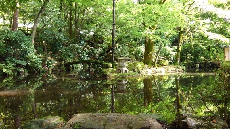Japanese garden in Gifu Park