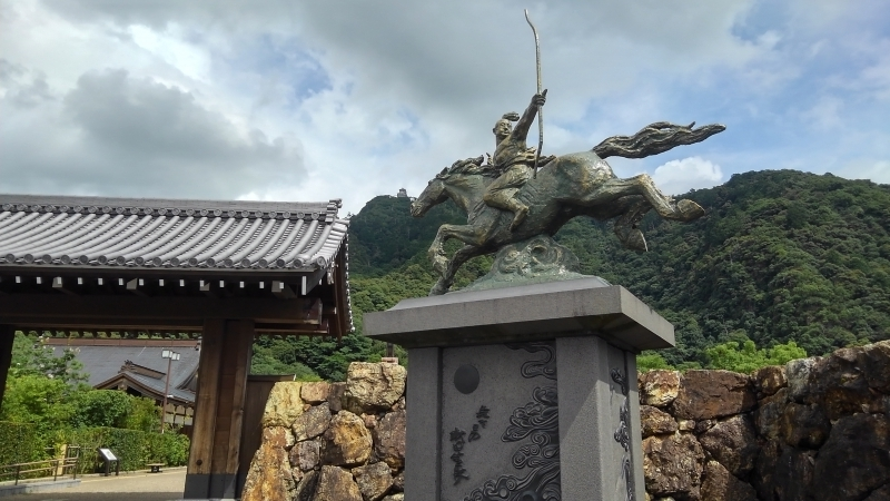 Lord NOBUNAGA's Monument and Mt. Kinka