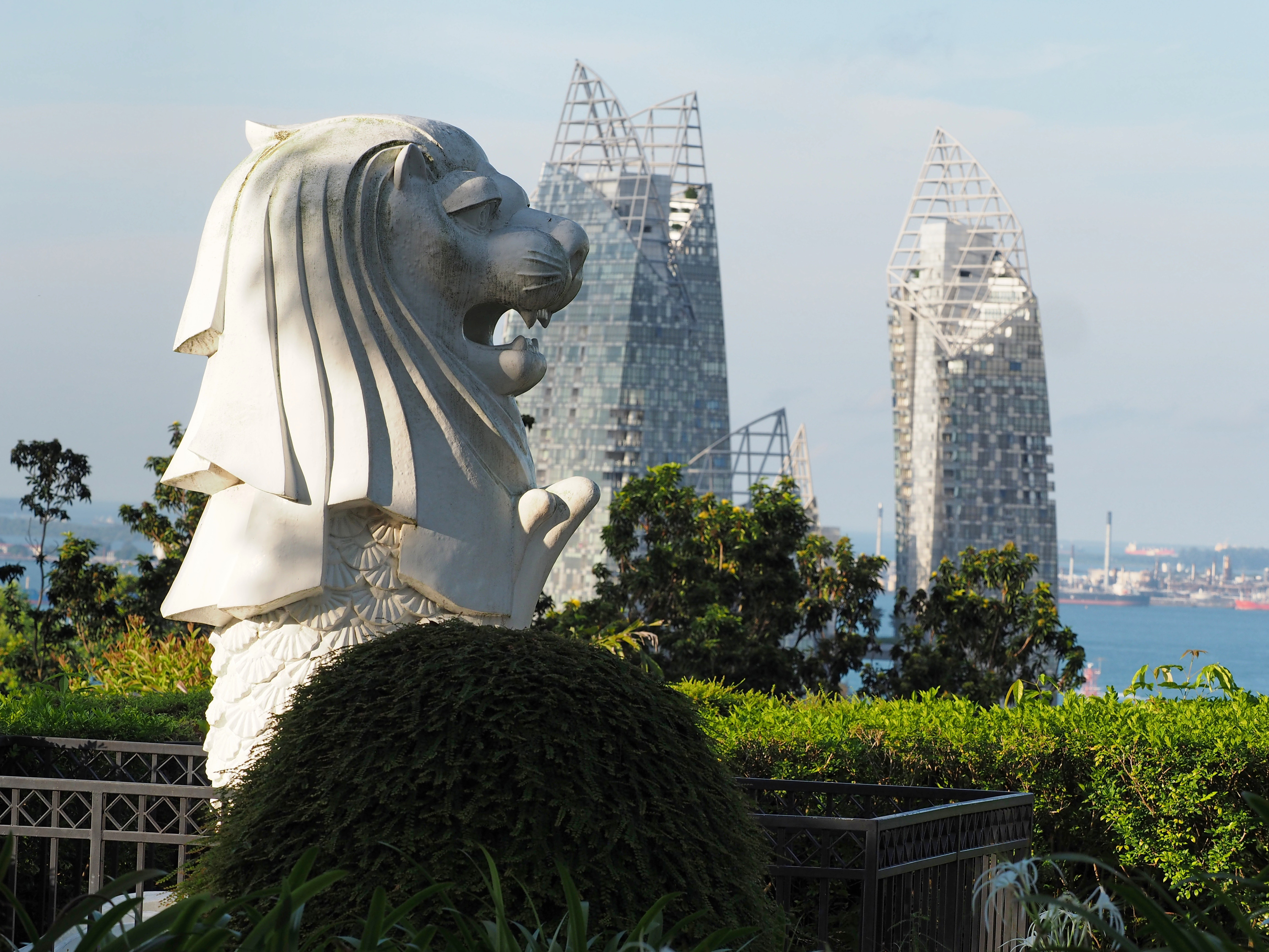 The Merlion at Faber Point