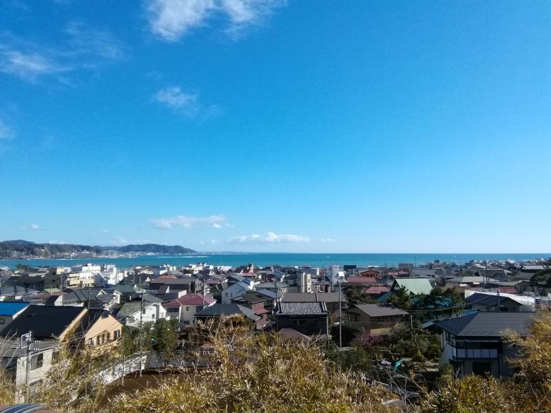 A beautiful view of Kamakura