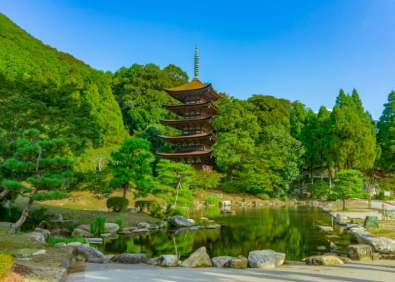 Rurikoji (瑠璃光寺, Rurikōji) is a Buddhist temple in Yamaguchi City, best known for its five-storied pagoda that is a national treasure.