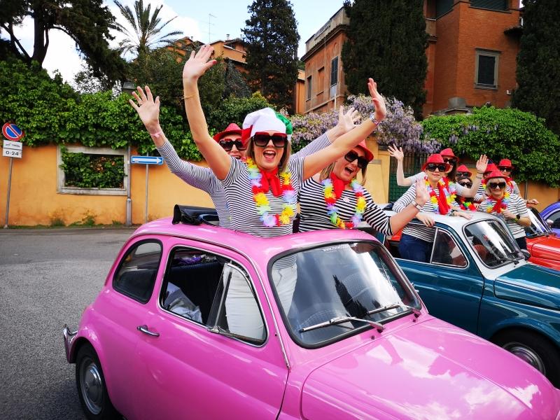 Enjoy a UNIQUE tour in Rome aboard a Fiat 500 vintage car!